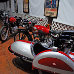 Classic Motorcycle Show at the Simeone Museum