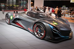 race car, automobile, vehicle, performance car, automotive design, auto show, concept car, land vehicle, supercar, sports car,