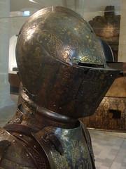 1598-1600 - 'parade armour and horse armour for Albert, Archduke of Austria', Milano, Koninklijk Legermuseum, Hallepoort, Koninklijke Musea voor Kunst en Geschiedenis, Brussel, Belgium