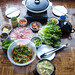 Deborah Kuo made samgyeopsal meal