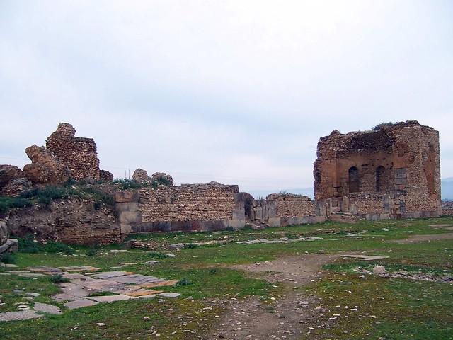 Forum and Basilica, Simitthus