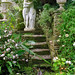 Lamorran House Gardens, Cornwall, UK | A coastal garden featuring romantic garden statues (8 of 11)