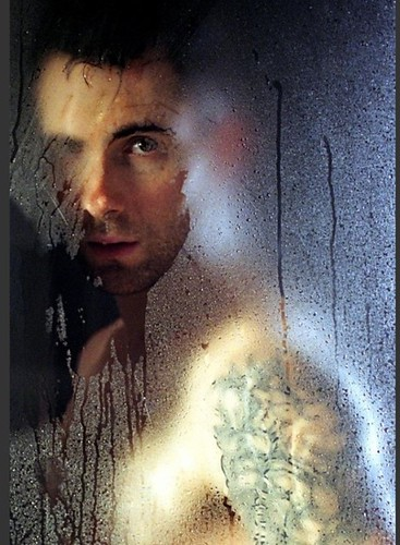 Adam Levine in shower!