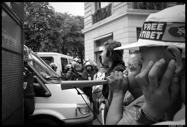 Manifestation Pro-Tibétaine du 08/08/08