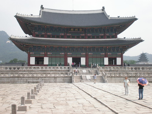Geunjeongjeon throne hall, Gyeongbok Palace, Seoul
