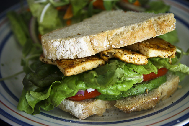Grilled BBQ Tofu Sandwich | Flickr - Photo Sharing!