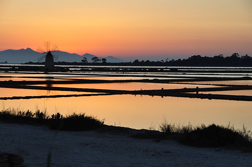 sunset mill tramonto saline mulino trapani marsala rgspaesaggio regionalgeographicsicilia