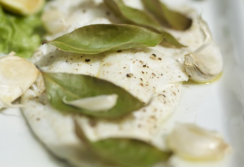 Haddock with bay leaves - Cook bay leaves ...