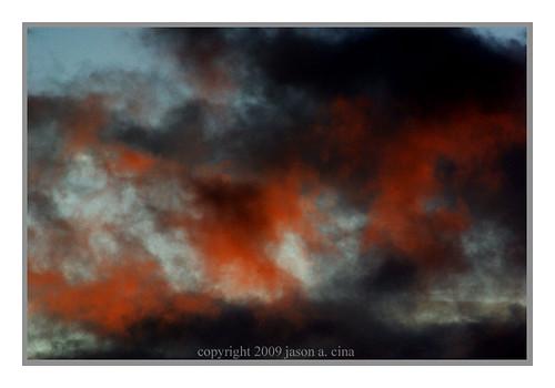 road sunset orange storm nature rain clouds rural farm nj stillwater climate cina hardwick motyka 07825 jasoncina jasonacina