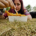 Rock Werchter 2009 - Selfportrait with Fries by vintagedept