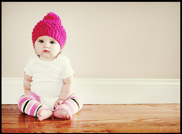 Pink Hat baby