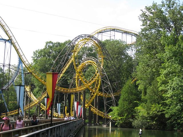 Busch Gardens Williamsburg Loch Ness Monster Flickr Photo Sharing