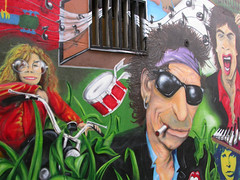 Janis Joplin, Keith Richard, Mick Jagger e Jim Morrison
