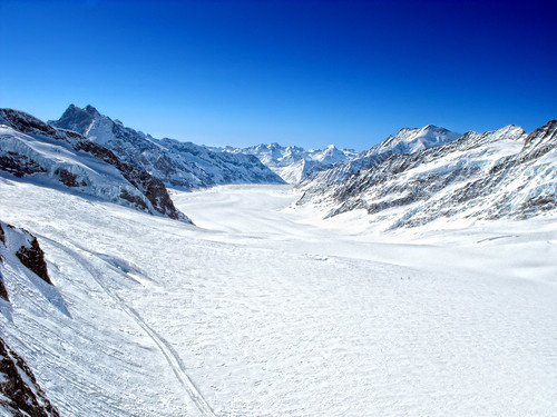 Swiss alp -- View from Jungfraujoch (11,332 ft)