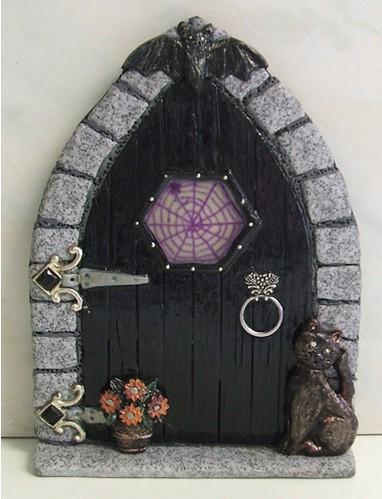 Scary fairy door flickr photo sharing for Purple fairy door