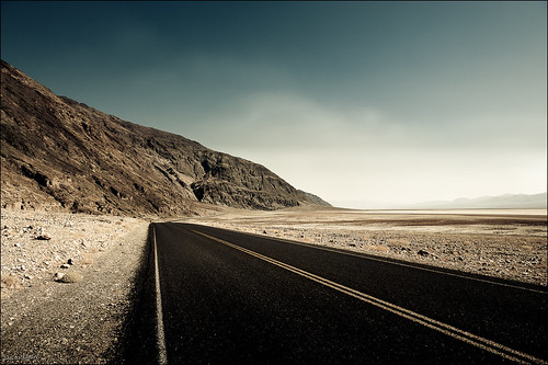 Road in Death Valley