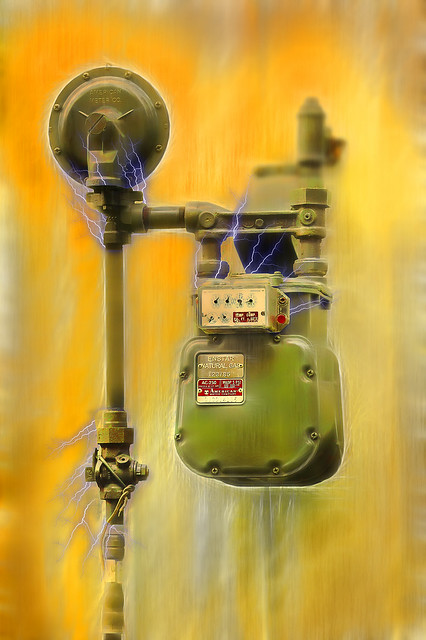 Natural Gas Well Meter : Natural gas meter flickr photo sharing