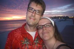 Aaron and Diana at Sunset