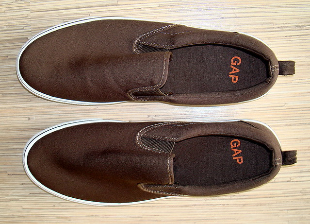 Mens Canvas Slip On Shoes Cheap