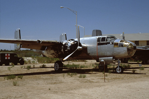 North American B-25 Mitchell at the Pima Air & Space Museum, 1980