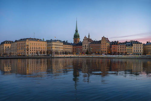 stockholm sweden view city cityscape landscape colors colorful nikon sunrise rise blue old town oldtown gamla gamlastan sky skyline beautiful panoramic historic nordic winter great scandinavia