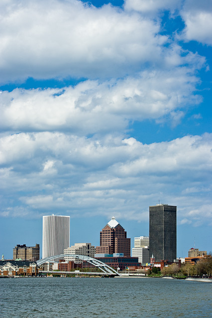 Rochester Skyline, Day (Portrait)