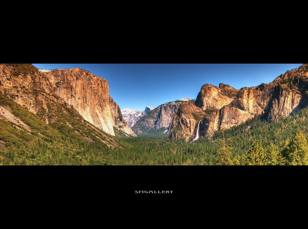 The Tunnel View by SMGallery (MooreFoto.com)