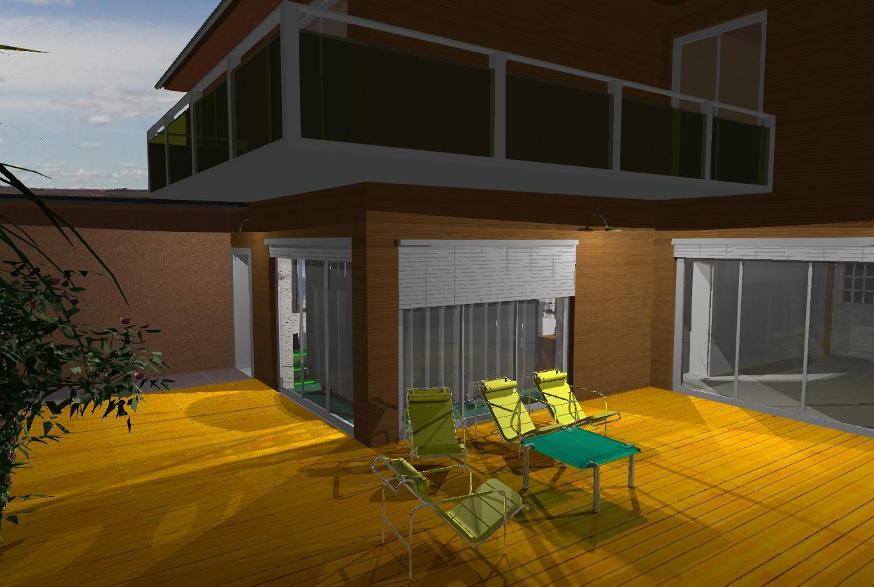Andriam graphic 3d 2d concept villa en hauts plateaux for Concept villa