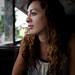 Small photo of Agnieszka contemplating life