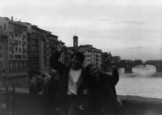 Doing Laocoon on the Ponte Vecchio