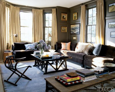 Living Room    on Sophisticated Brown Living Room  Benjamin Moore  Char Brown    Warm
