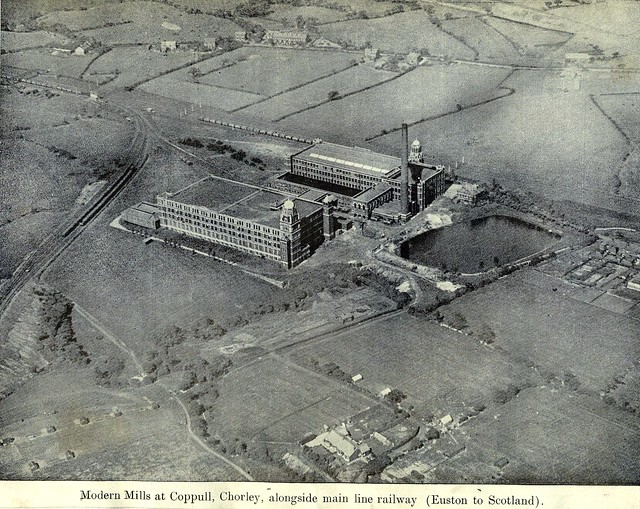 Coppull Ring Mill & Mavis Mill 1932