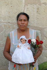 Woman with Baby Jesus Mexico