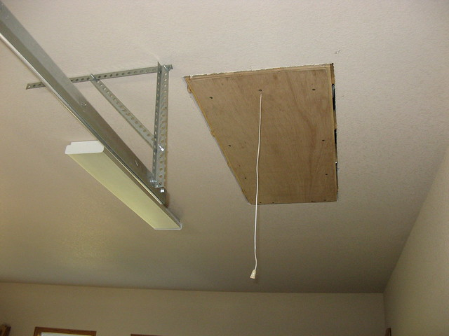 Pull Down Stairs For Attic Access Above Garage Flickr