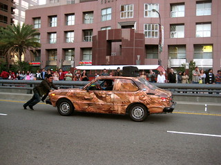 flesh car crash