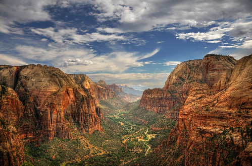 Zion Canyon HDR
