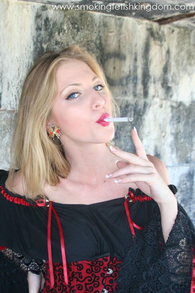 Hot Chicks Smoking Cigarettes