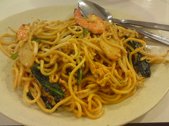 pici(0.0), noodle(1.0), mie goreng(1.0), bakmi(1.0), fried noodles(1.0), lo mein(1.0), pancit(1.0), bucatini(1.0), spaghetti(1.0), spaghetti aglio e olio(1.0), hokkien mee(1.0), naporitan(1.0), produce(1.0), food(1.0), dish(1.0), yakisoba(1.0), chinese noodles(1.0), carbonara(1.0), yaki udon(1.0), cuisine(1.0), chinese food(1.0), chow mein(1.0),