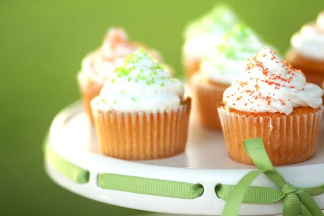 Cupcakes for my new nephew.