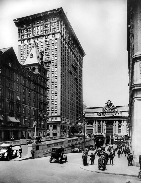 Grand Central Station Park Ave Bdge c. 1919