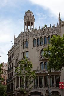 Bilde av Casa Lleó Morera nær Eixample. barcelona casa lleo morera