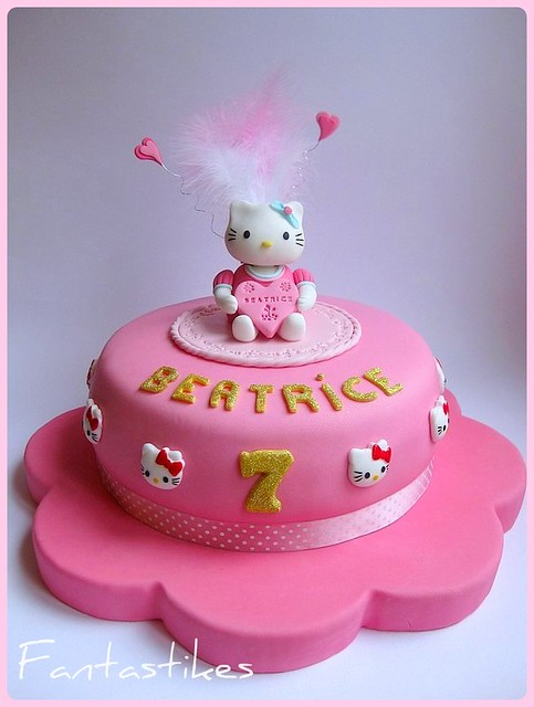 hello kitty cake - a gallery on Flickr