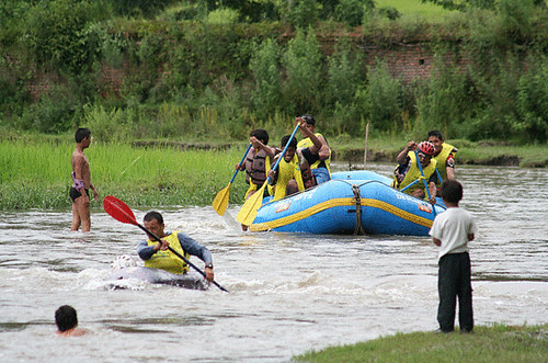 Bagmati River Challenge Stage three