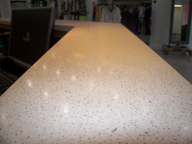 Concrete Countertop Mix : White concrete counter buddy rhodes mix flickr photo