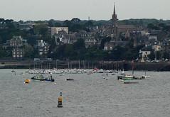 14 - 4 juin 2009 Le soir, depuis les remparts de Saint-Malo Vue sur  Dinard