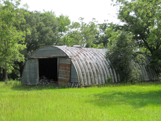 Quonset hut storage flickr photo sharing for Storage huts for garden