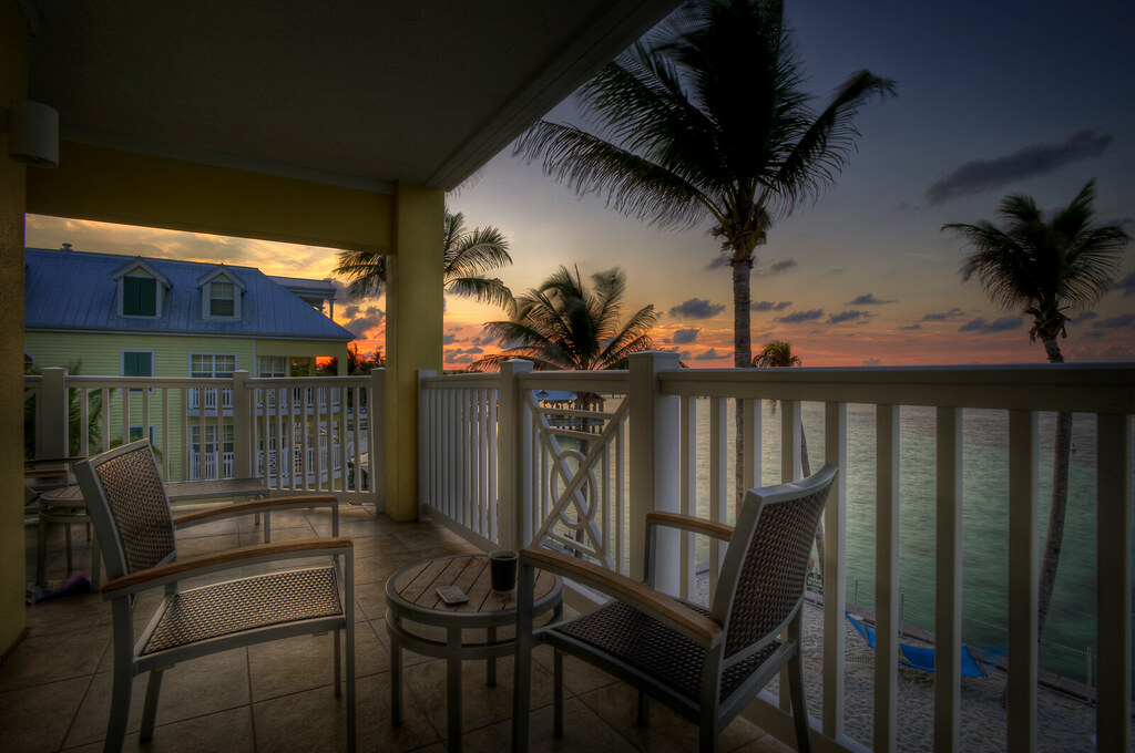 From the balcony in Key West by MDSimages.com