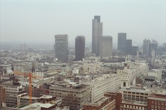 164. //30/1c/159/2.f  - VIEW of LONDON from ST. PAUL'S, UK 1987