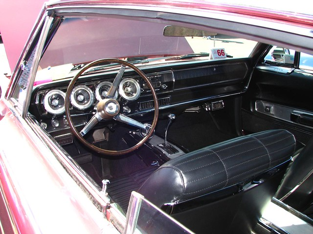 1966 Dodge Charger Interior | Flickr - Photo Sharing!