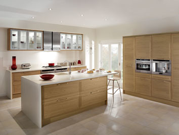 Magnet Kitchens Cubista Oak Light And Airy Yet At The